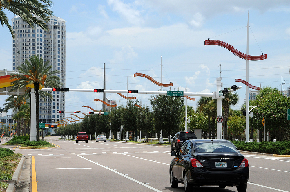 Meridian Avenue Signalization from Channelside Drive to the